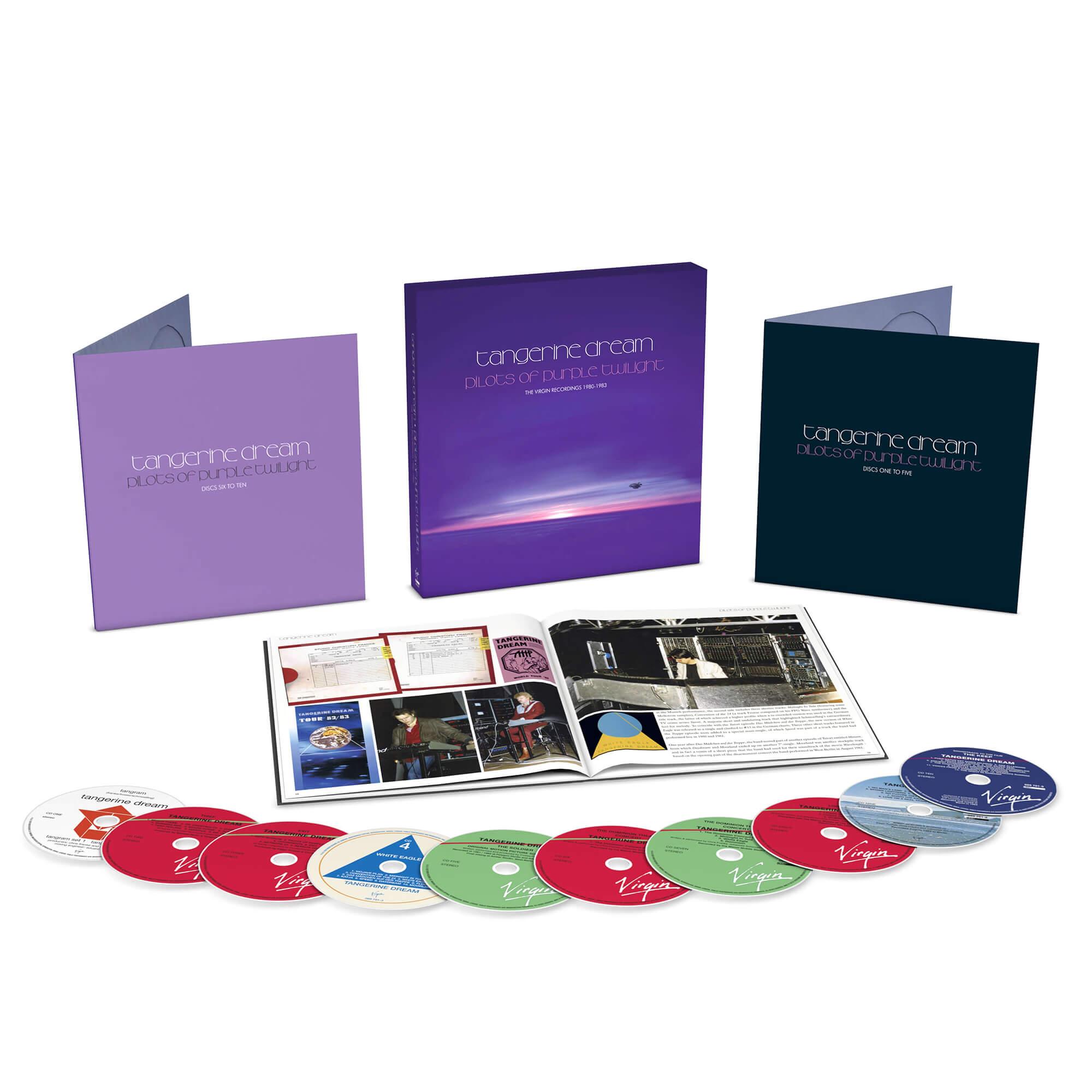 Tangerine Dream - Pilots Of Purple Twilight: The Virgin Recordings 1980 - 1983