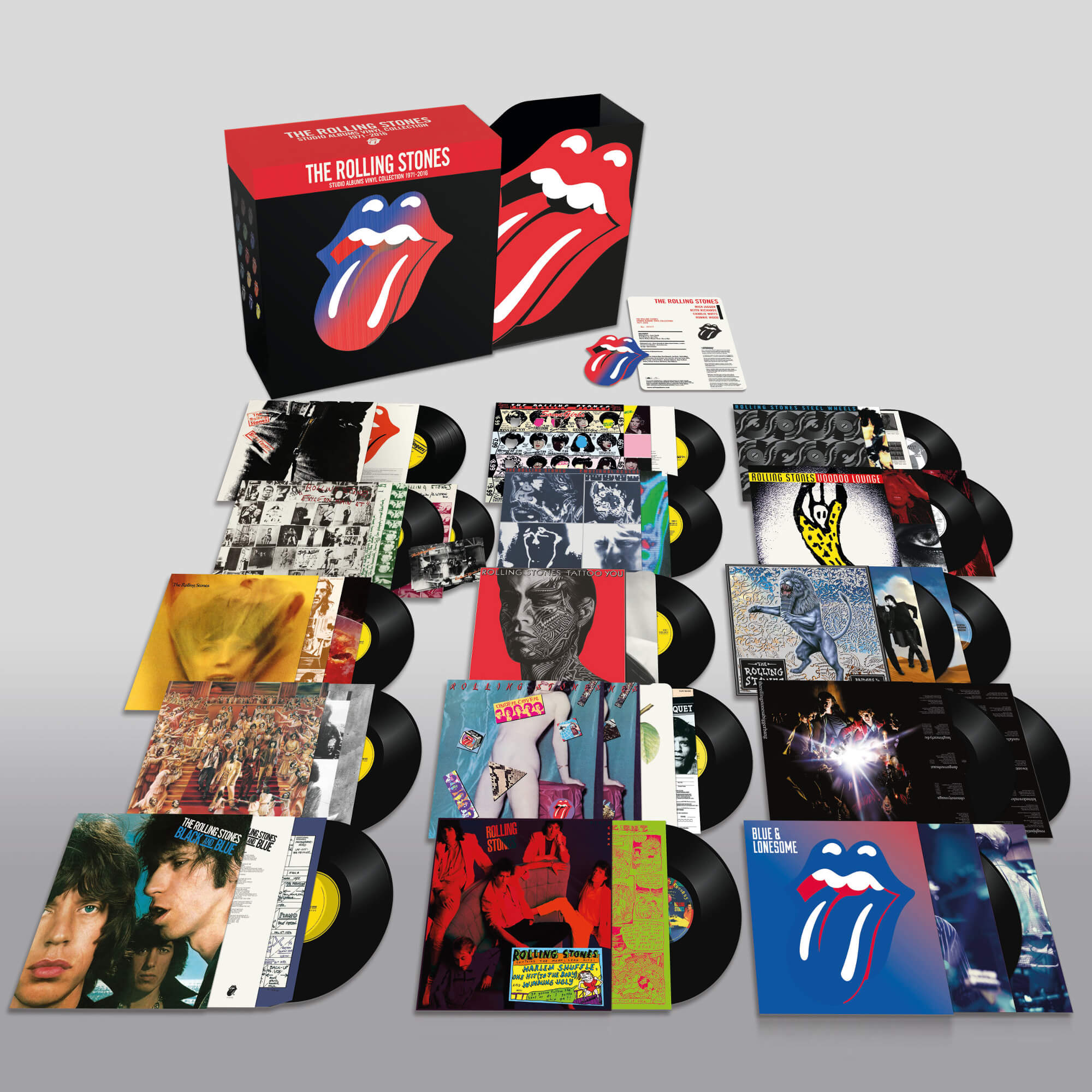 The Rolling Stones - Studio Albums Vinyl Collection 1971 - 2016