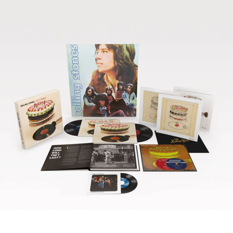 Let It Bleed - 50th Anniversary Edition (Ltd. Deluxe Box) von The Rolling Stones - Boxset jetzt im uDiscover Shop
