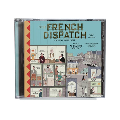 The French Dispatch (Original Soundtrack) by Various Artists - CD - shop now at uDiscover store