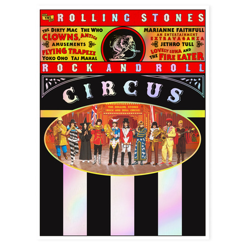 √Rock and Roll Circus (Special Limited Deluxe Edition) von The Rolling Stones - DVD / Blu ray / 2CD jetzt im uDiscover Shop