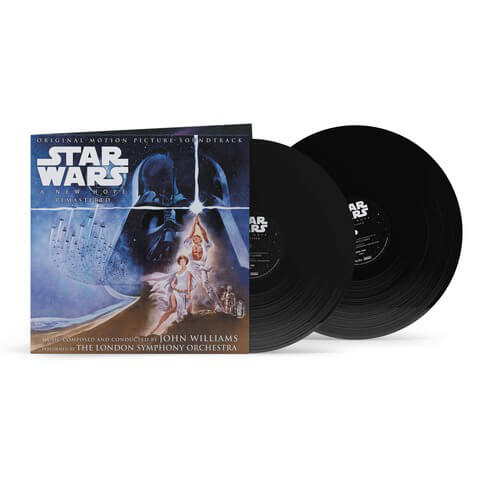 √John Williams - Star Wars 'A New Hope' Original Motion Picture Soundtrack von John Williams - 2LP jetzt im uDiscover Shop