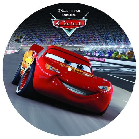"""Disney - Songs From Cars 12"""" Picture Disc by Various Artists - Picture LP - shop now at uDiscover store"""