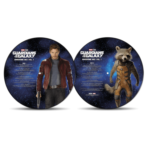 Guardians Of The Galaxy: Awesome Mix Vol.1 by Various Artists - Picture Disc LP - shop now at uDiscover store