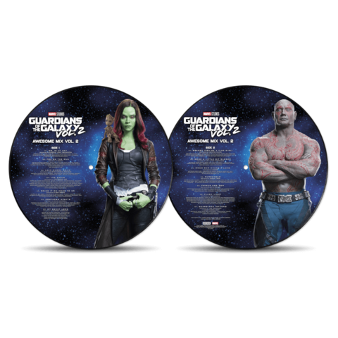 Guardians Of The Galaxy: Awesome Mix Vol.2 by Various Artists - Picture Disc LP - shop now at uDiscover store