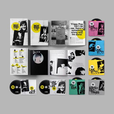Iggy Pop - The Bowie Years (Ltd. 7 CD Boxset) von Iggy Pop - Boxset jetzt im uDiscover Shop