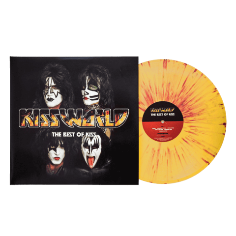 √KISSWORLD - The Best Of KISS (Ltd. Coloured LP) von Kiss - 2LP jetzt im uDiscover Shop