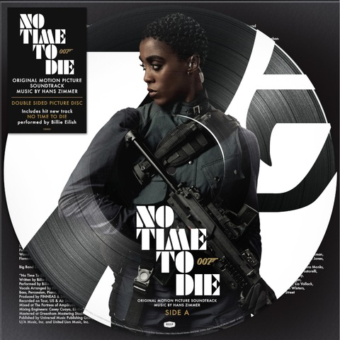 Bond 007: No Time To Die (Exclusive Limited Edition Nomi Picture Disc) by Hans Zimmer -  - shop now at uDiscover store