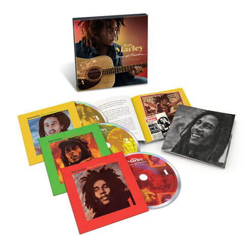 Songs Of Freedom: The Island Years (Ltd. 3CD Boxset) von Bob Marley - Boxset jetzt im uDiscover Shop