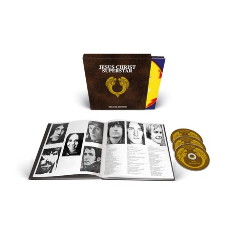 Jesus Christ Superstar - 50th Anniversary Edition (3CD Boxset) by Andrew Lloyd Webber - Box set - shop now at uDiscover store