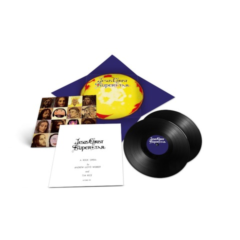Jesus Christ Superstar - 50th Anniversary Edition (Exclusive 2LP + Print) by Andrew Lloyd Webber -  - shop now at uDiscover store