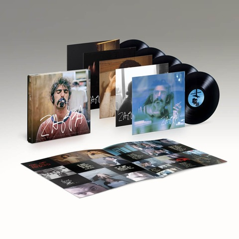 ZAPPA (Original Motion Picture Soundtrack - Ltd. 5LP) von Frank Zappa - 5LP Box jetzt im uDiscover Shop
