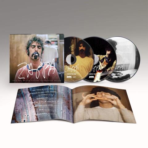 √ZAPPA (Original Motion Picture Soundtrack - 3CD) von Frank Zappa - 3CD jetzt im uDiscover Shop