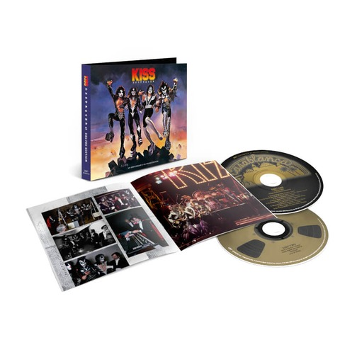 Destroyer 45 by Kiss - Deluxe Edition 2CD - shop now at uDiscover store