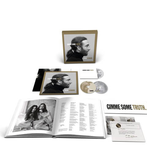 √GIMME SOME TRUTH. (Ltd. 2CD+BluRay Box) von John Lennon - Box jetzt im uDiscover Shop