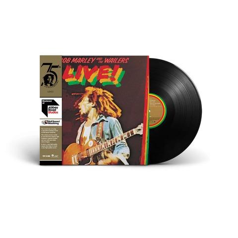 √Live! (Ltd. Half-Speed Mastered LP) von Bob Marley & The Wailers - LP jetzt im uDiscover Shop
