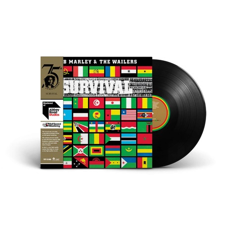 √Survival (Ltd. Half-Speed Mastered LP) von Bob Marley & The Wailers - LP jetzt im uDiscover Shop
