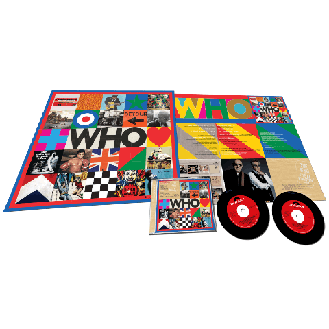 √WHO (Deluxe 2CD with Live At Kingston) von The Who - 2CD jetzt im uDiscover Shop