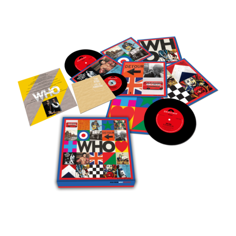 WHO (7'' Boxset with Live At Kingston) von The Who - LP Box jetzt im uDiscover Shop
