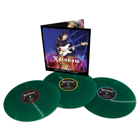 √Memories In Rock - Live In Germany (Ltd. Coloured 3LP) von Ritchie Blackmore's Rainbow - 3LP jetzt im uDiscover Shop