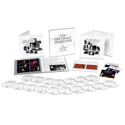 The Charisma Years (17CD+3BD Boxset) by Van Der Graaf Generator - Box set - shop now at uDiscover store