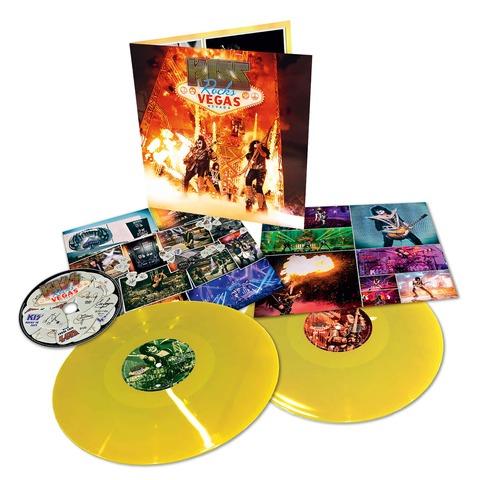 √Rocks Vegas (Ltd. Coloured 2LP+DVD) von Kiss - 2LP+DVD jetzt im uDiscover Shop