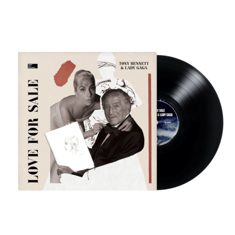 Love For Sale (Standard Vinyl) by Tony Bennett & Lady Gaga - lp - shop now at uDiscover store