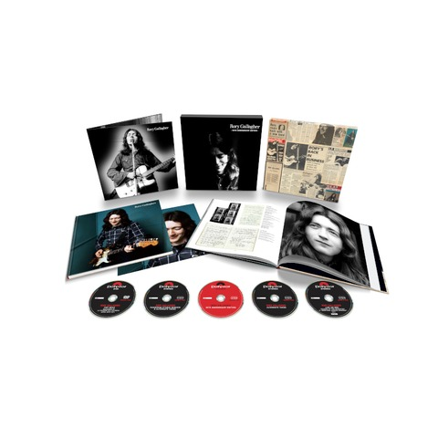 Rory Gallagher (50th Anniversary Edition) (4CD+1DVD Deluxe Set) von Rory Gallagher - Boxset jetzt im uDiscover Store