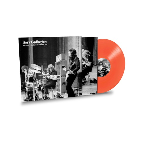 BBC John Peel Sunday Concert 1971 (Exclusive Limited Coloured Vinyl) by Rory Gallagher - lp - shop now at uDiscover store