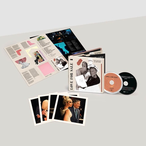 Love For Sale (International Deluxe 2CD) by Tony Bennett & Lady Gaga - 2CD - shop now at uDiscover store