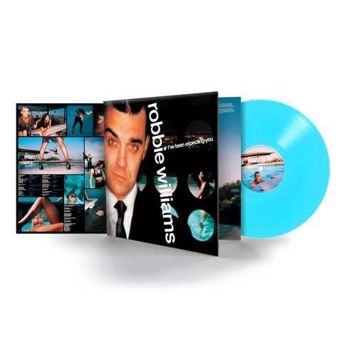 I've Been Expecting You (Exclusive Aquamarine Vinyl) by Robbie Williams - lp - shop now at uDiscover store