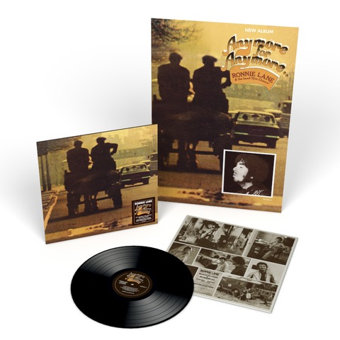 Anymore For Anymore (2021 Reissue LP) by Ronnie Lane - lp - shop now at uDiscover store