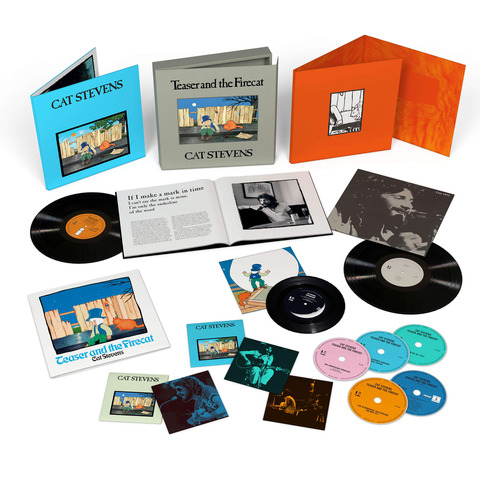 Teaser and The Firecat by Yusuf / Cat Stevens - Super Deluxe Edition: Vinyl Edition - shop now at uDiscover store