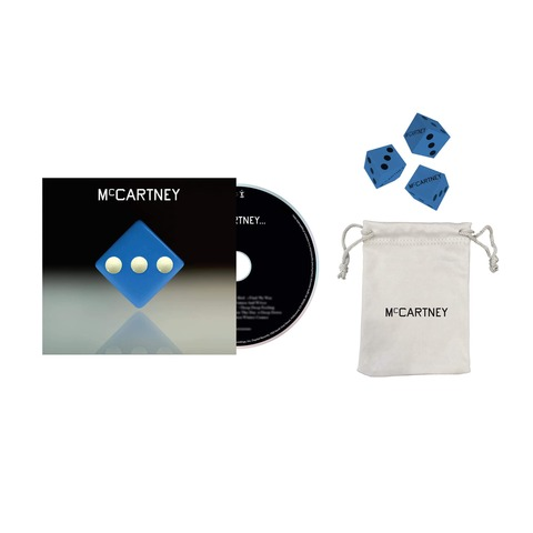 III (Deluxe Edition Blue Cover CD + Dice Set) von Paul McCartney - CD + Dice Set jetzt im uDiscover Shop