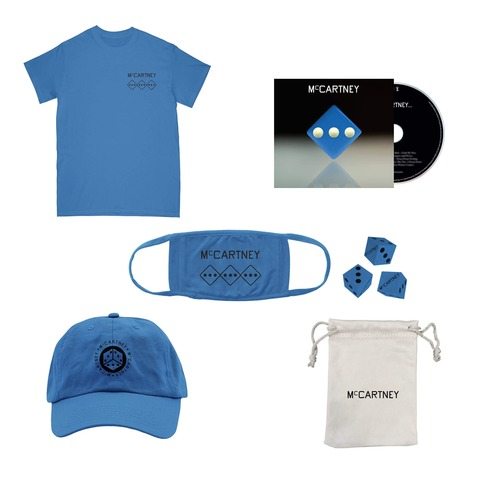 √III (Deluxe Edition Blue CD + Dice Set + Shirt + Hat + Mask) von Paul McCartney - CD-Bundle jetzt im uDiscover Shop