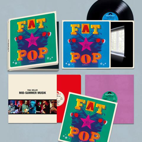 √Fat Pop (Excl. 3LP Boxset) von Paul Weller - 3LP Boxset jetzt im uDiscover Shop