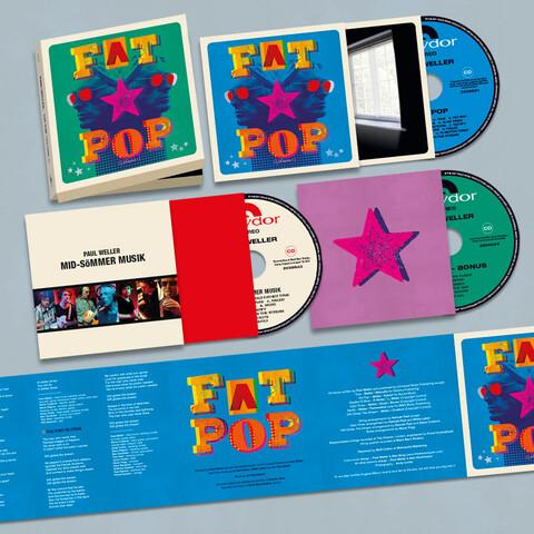 √Fat Pop (3CD Boxset) von Paul Weller - 3CD Boxset jetzt im uDiscover Shop