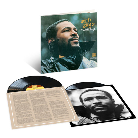 What's Going On? (50th Anniversary Edition 2LP) by Marvin Gaye - lp - shop now at uDiscover store