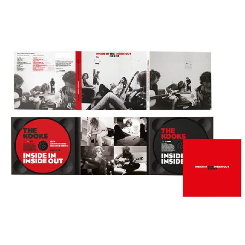 Inside In / Inside Out (15th Anniversary Edition 2CD) by The Kooks - 2CD - shop now at uDiscover store