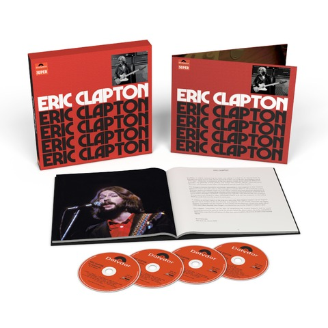 Eric Clapton (4CD Anniversary Deluxe Edition) by Eric Clapton - 4CD - shop now at uDiscover store