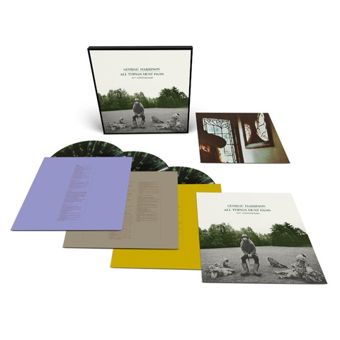 √All Things Must Pass (Exclusive Limited 3LP Coloured) von George Harrison -  jetzt im uDiscover Shop