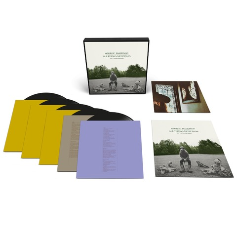 √All Things Must Pass (Limited 5LP Deluxe) von George Harrison -  jetzt im uDiscover Shop