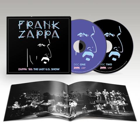 Zappa '88: The Last U.S. Show (Ltd. Edition) von Frank Zappa - 2CD jetzt im uDiscover Shop