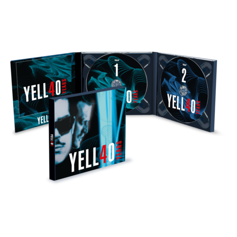 √4O YEARS (2CD) von Yello - 2CD jetzt im uDiscover Shop