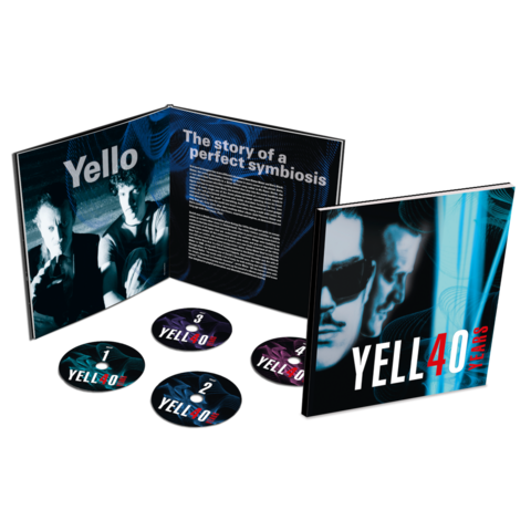4O YEARS (Ltd. Earbook 4CD) von Yello - 4CD Earbook jetzt im uDiscover Shop