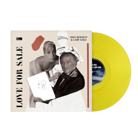 Love For Sale (Exclusive Colored Vinyl) by Tony Bennett & Lady Gaga - lp - shop now at uDiscover store