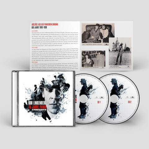 75 Jahre Panik (2CD) by Udo Lindenberg - 2CD - shop now at uDiscover store