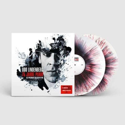 √75 Jahre Panik (Numbered 2LP Splatter Vinyl) von Udo Lindenberg -  jetzt im uDiscover Shop