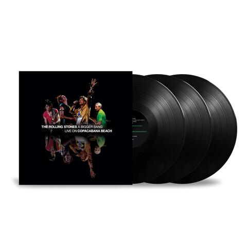√A Bigger Bang - Live On Copacabana Beach (3LP) von The Rolling Stones - 3LP jetzt im uDiscover Shop