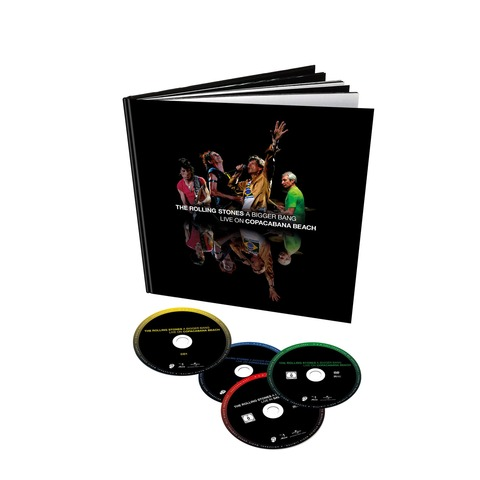 √A Bigger Bang - Live On Copacabana Beach (4 Disc Set - 2DVD + 2CD Audio) von The Rolling Stones - DVD Boxset jetzt im uDiscover Shop